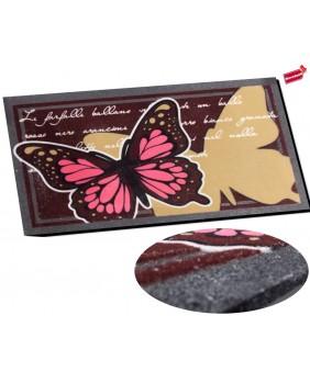 Felpudo mariposa