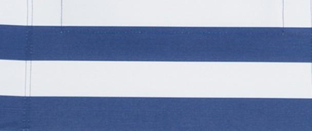 Rayas azul blanco